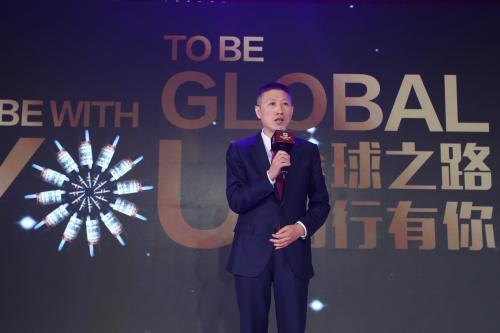资料图:新任张裕公司董事长周洪江
