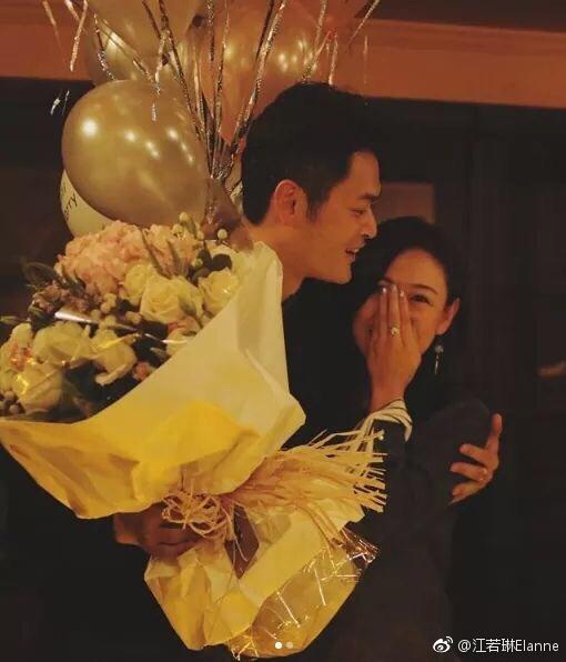中国好前任!曹云金点赞前女友江若琳求婚成功新闻