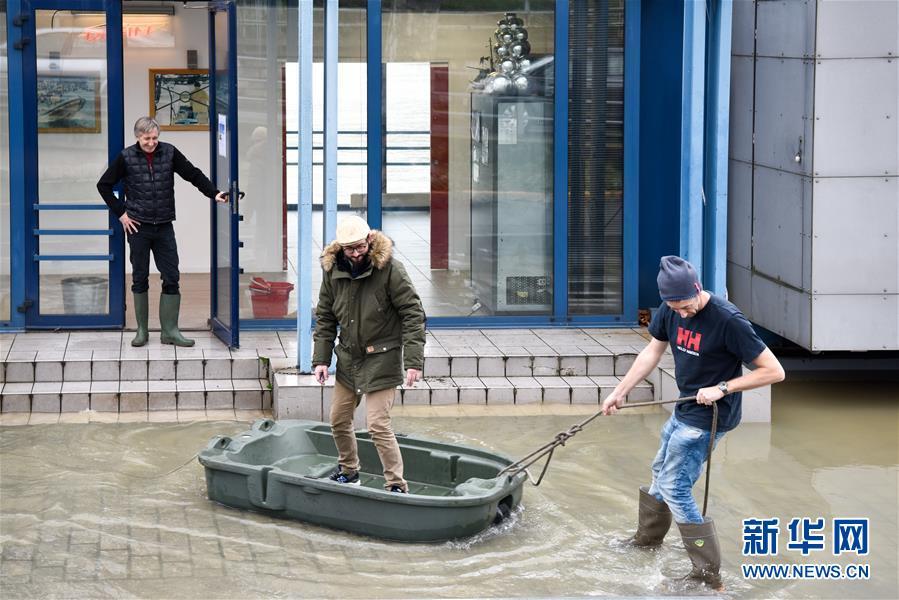 法国气象局发布洪水橙色预警