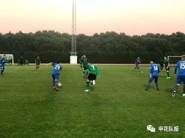 新外援破门登巴巴首发 申花热身1-1直布罗陀球队
