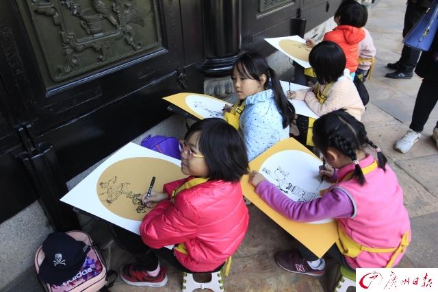 小小画家临古画,品味传统文化
