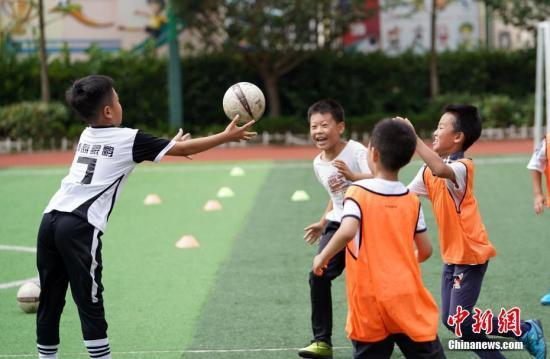 7部门:2020年每2万名青少年拥有1家青少年体育俱乐部
