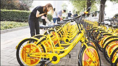 共享单车骑行活跃度持续上升