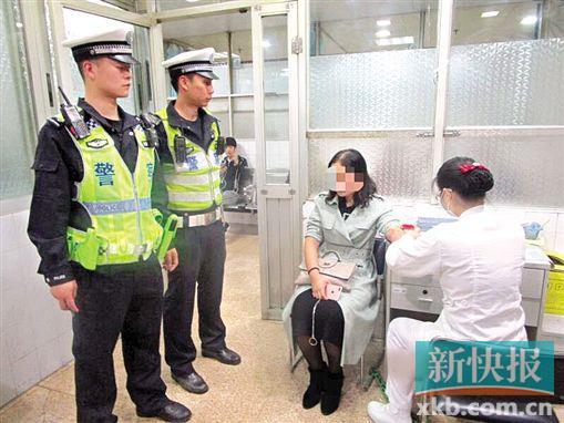 广州交警三个月内查获近4000宗涉酒驾驶行为