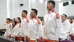 平昌冬奥会中国代表团成立 82名中国健儿出征55个小项