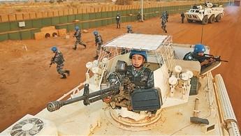 马里恐怖袭击频发 中国蓝盔严阵以待