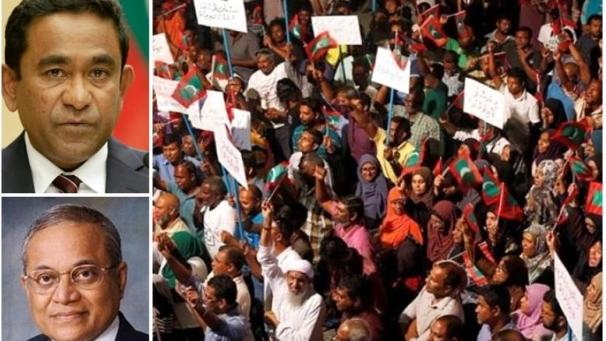 马尔代夫进入紧急状态:政府军冲入最高法院