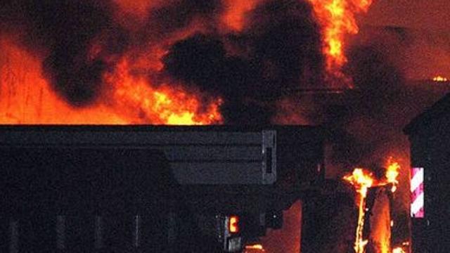 意大利科莫市一家化工厂发生爆炸 造成多人受伤