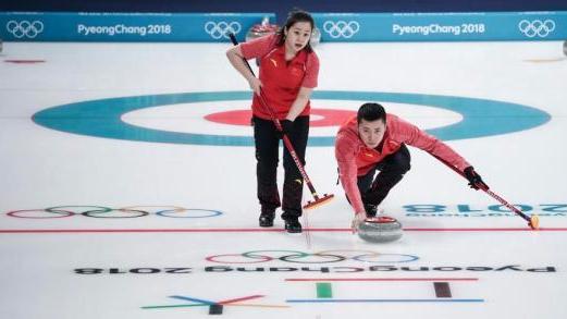 一分险胜韩国队 中国冰壶混双迎来首胜