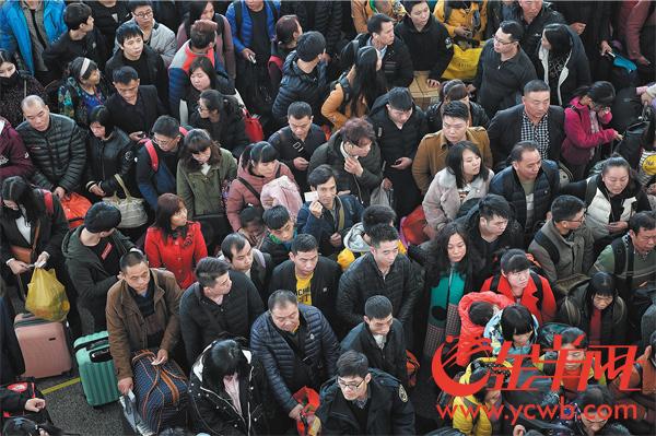 172万人!广铁发送旅客 达节前最高峰