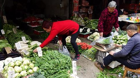 上周食用农产品价格上涨 30种蔬菜均价涨7.8%