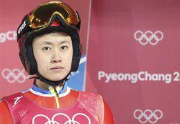 """中国跳台滑雪冬奥第一人常馨月:喜欢冒险的跳台""""新月"""""""