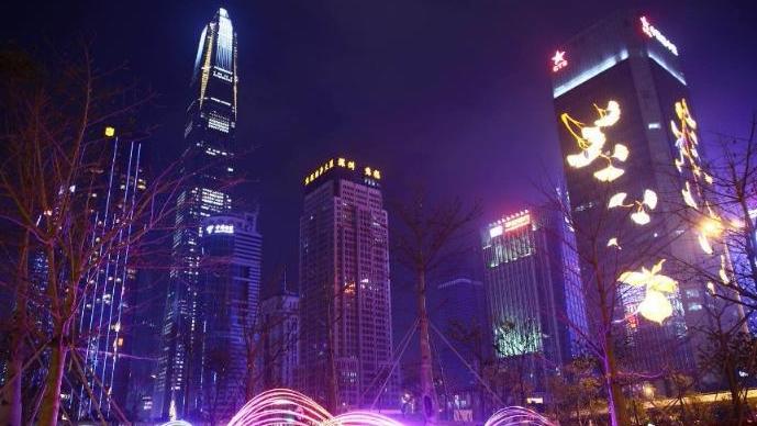 这个春节,深圳想给你看一次难忘的灯光show!