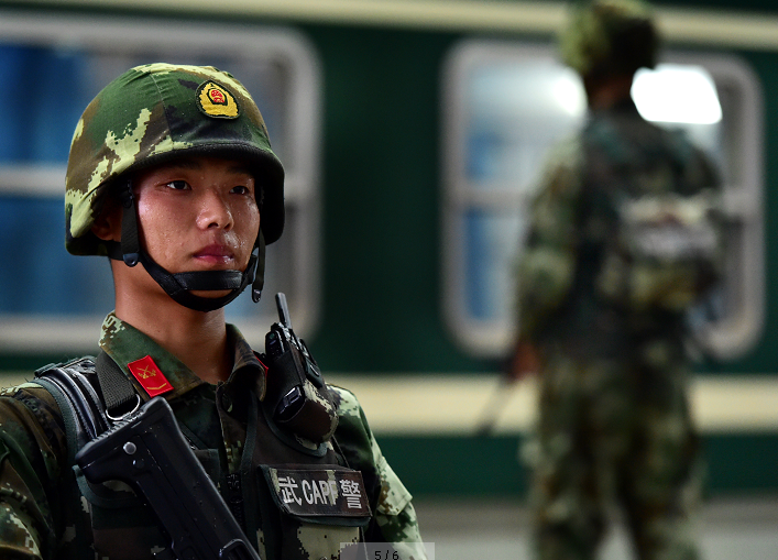 新春走军营丨武警上海总队某中队:我为航天押运忙