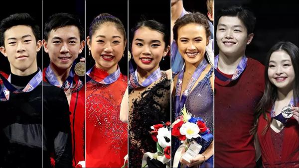 亚裔选手撑起花滑半边天 中式传统教育逆袭美国体育