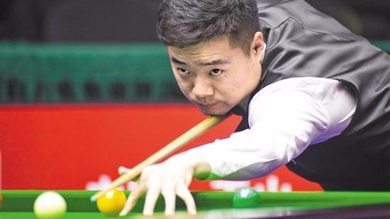 斯诺克世界大奖赛奥沙利文连胜中国球员 丁俊晖进八强