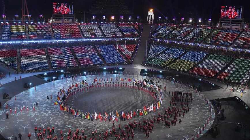 平昌冬奥会闭幕 北京八分钟惊艳全世界