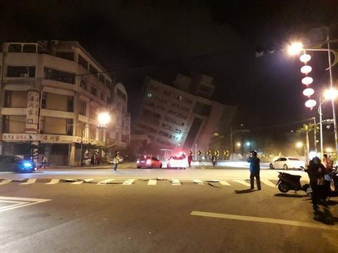 台湾发生6.5级地震 陈妍希林志颖等众星祈福