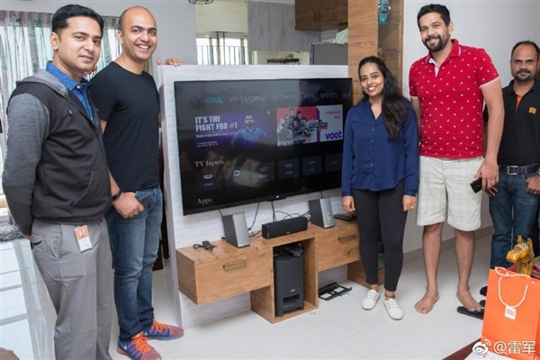 第一位购买小米电视4的印度米粉 竟还有这待遇