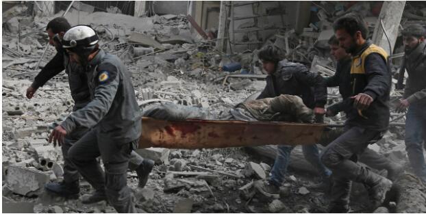 叙政府连日轰炸东古塔地区 已致超过400人死亡