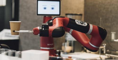 日本推出机器人咖啡厅 揽客冲泡洗杯都能行(图)