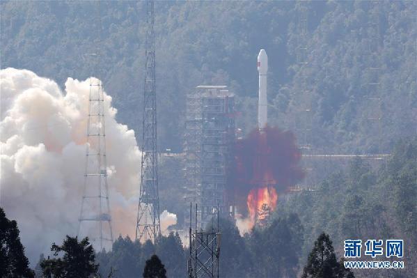 """我国""""一箭双星""""成功发射两颗北斗三号全球组网卫星"""