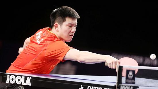 樊振东力克黑马:他反手非常强 我前两局太谨慎