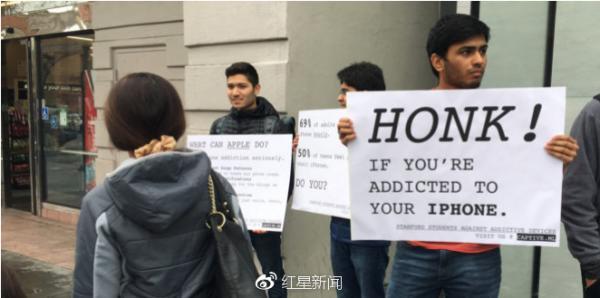 """斯坦福学生组织""""反电子设备成瘾""""运动,要求苹果开发老人机"""