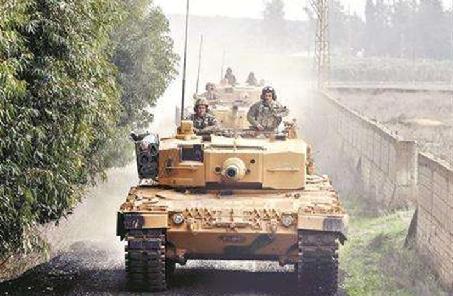 土耳其称已对叙利亚阿夫林城区形成包围之势