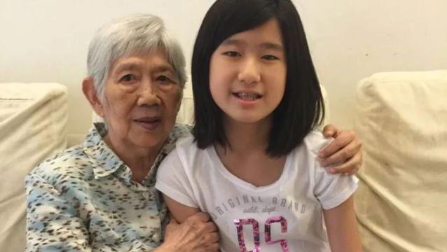 奶奶患病,14岁华裔女孩为她开发APP