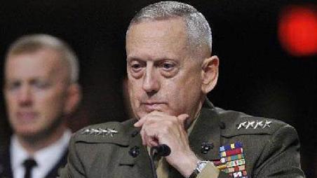 美防长马蒂斯突访阿富汗