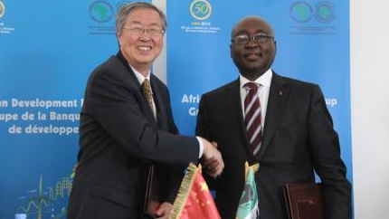 """""""中国正与非洲实现共同繁荣"""""""