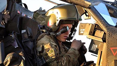 哈里王子服役生活曝光 在阿富汗时险被地雷炸死