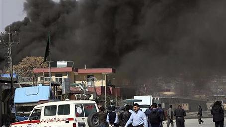 阿富汗首都发生两起炸弹袭击致10人死伤