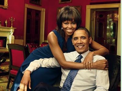 """参观者越来越多 奥巴马妻子画像不得已""""搬家"""""""