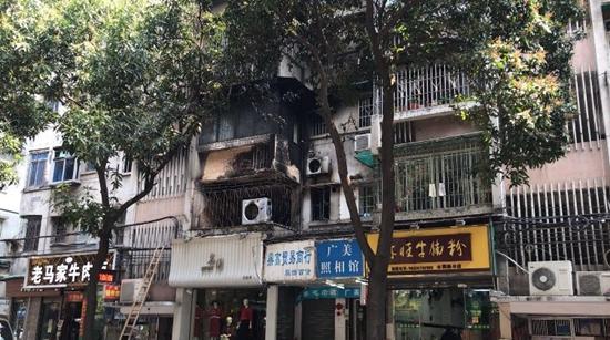 广州水荫路火灾后续:水气电已通 赔偿主体仍待确认
