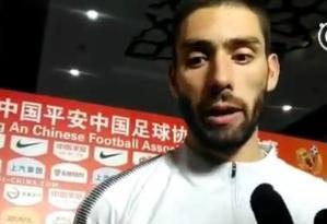 卡拉斯科:来中国之后我要适应单前锋 得和队友磨合