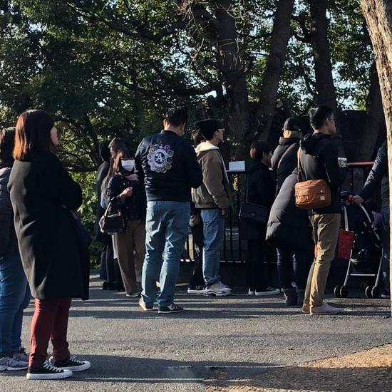 网友日本偶遇李易峰逛动物园