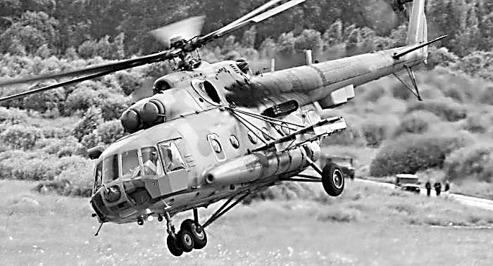 俄电子战直升机部署叙利亚 曾让数十枚战斧打偏