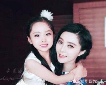 范冰冰7岁漂亮堂妹曝光 曾获模特大赛儿童组冠军