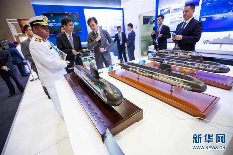 中国军工亮相马来西亚亚洲防务展(组图)
