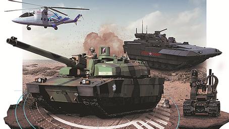 """纵览世界武器新突破:陆战装备迈进""""新的时代"""""""