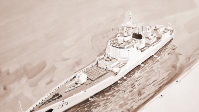我国在南海进行大规模海上阅兵 辽宁舰航母编队新型核潜艇成亮点