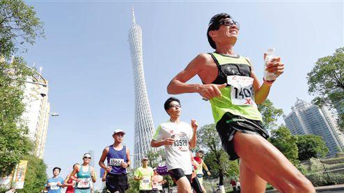 广马中签难 体育局:鼓励广州各区多办路跑赛事