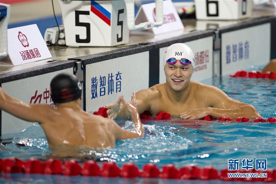 孙杨夺男子100米自由泳季军:从100游到1500,除了我没人能做到