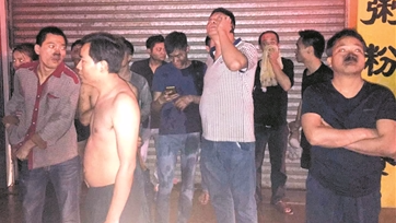 38名熟睡租客火海逃生