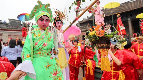 三月三,看飘色——番禺民俗文化节盛大启动