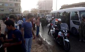叙政府宣布收复杜迈尔镇,反对派武装上缴武器千余人撤离