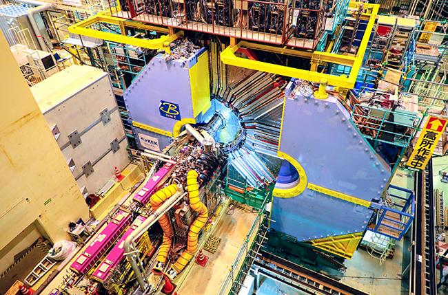 日本改建后的超级对撞机首次实现对撞