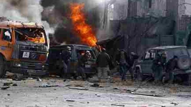 阿富汗首都一选民登记中心遭遇自杀炸弹袭击